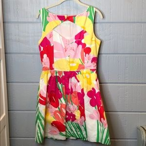 Lilly Pulitzer Dresses - Lilly Pulitzer bright floral pockets Easter dress